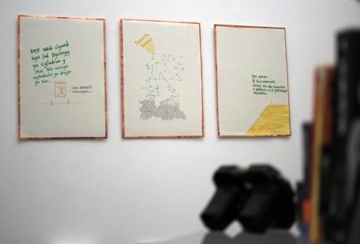Accumulator II, Oriel Myrrdin Gallery, Wales, 2013, the Annex.